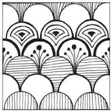 Resultado de imagen para easy zentangle patterns