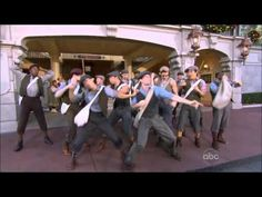 missing disney now more than ever after watching this.     Newsies - Carrying The Banner - Disney Parks Christmas Parade 2012