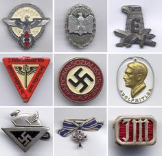Old military medals/ badges used that are hard to come by now