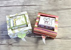Bonjour à toutes, Le projet vidéo que je vous présente aujourd'hui est une réalisation de Wendy Lee une démonstratrice Américaine son... Mini Scrapbook Albums, Mini Albums, Box Packaging Templates, Diy And Crafts, Paper Crafts, Envelope Punch Board, Send A Card, Explosion Box, Stamping Up