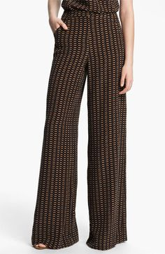 Tracy Reese 'Motif Stripe' Palazzo Pants | Nordstrom