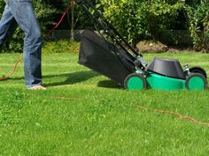 Excellent Tips for Winter Lawn Maintenance: Surprising Winter Lawn Maintenance With Mower ~ workdon.com Gardens Inspiration