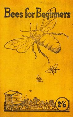 .to bee or not to bee Bee Skep, My Honey, Honey Bees, Vintage Bee, Bee Book, Buzzy Bee, I Love Bees, Bee Art, Ruche