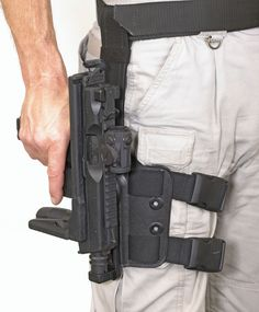 Ruger MP9 with quick-draw holster