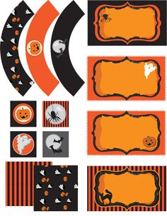 Free Halloween Printable Party Pack