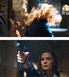 The one and only Peggy Carter, whose hair, outfit, and basically everything still looks perfect even after kicking arse Marvel Dc Comics, Marvel Avengers, Marvel Heroes, Hayley Atwell, Peggy Carter, And Peggy, Marvel Women, Marvel Movies, Marvel Cinematic Universe