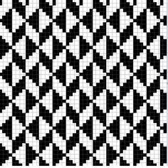 Crochet Decora & Veste: Rugs in Led Thread – Graphics # 2 - Knitting Charts Crochet Chart, Filet Crochet, Diy Crochet, Crochet Blocks, Knitting Charts, Knitting Stitches, Knitting Patterns, Tapestry Crochet Patterns, Weaving Patterns