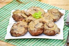 If you are from the Philippines, I'm sure you know where the Filipino Burger Steak originated. It may look like the more popular Salisbury Steak but it differs in sauce. Burger Steak which was made popular to the Filipinos by Jollibee (an American-style fast-food restaurant serving burgers and rice-based meals as well as other Filipino favorites like sweet spaghetti, palabok and hotdog sandwich) in the early 90's, is made up of pan-fried beef patties that come with a flavorful brown gravy…