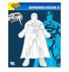 $6 Images of Superman New 52 Car Decal