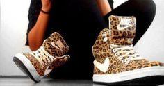 cheetah shoes.