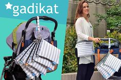 Amazon.com : Gadikat Diaper Bag Organizer Pouches, 4 Mesh inserts and 1 Wet bag, Set of 5 Versatile Files : Baby