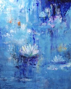 Calm in the Storm - Jenny Bagwill | Paintings & Prints, Flowers, Plants, & Trees, Flowers, Other Flowers | ArtPal