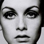 Twiggy's eyemake-up, I used to try it, didn't look the same.