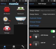 Roomie Remote: Your iPhone & iPad Smart Home Controller | Automated Home