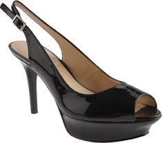 Justsmlie is a cute platform sling back that has the ability to accent any outfit perfectly.