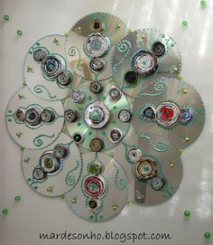 1000 images about things to do with old cds on pinterest old cds recycled cds and cd crafts - Top uses for old cds and dvds unbounded ideas ...