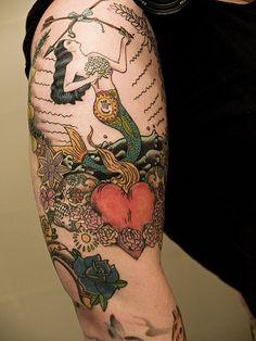 Mermaid-Tattoo-6.jpg 600×800 pixels