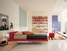 Bedroom. Beautiful Bedrooms With White Furniture: Blue White ...