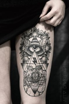 all seeing eye owl tattoo - Google Search