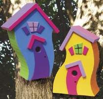 Bird house woodworking plans