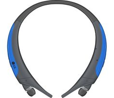 LG - TONE Active HBS-850 Bluetooth Headset - Gray, Blue. Key Specs Brand Compatibility LG Electronics Model Compatibility Not Available Maximum Talk Time 19 hours Warranty Parts 1 year Labor 1 year Feature Rechargeable Battery Yes Charging Interface(s) USB Compatibility Bluetooth Version 4.1 General Earpiece Type Stereo Additional Accessories Included USB charging cable, 2 EarGels ear tips (small) Color Category Multi Dimension Height 5.5 inches Width 5.6 inches Depth 0.6 inches Weight 1.8…