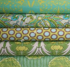 Amy butler fabric for patchwork curtains