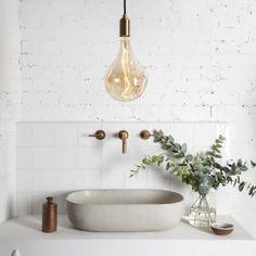 """272 Likes, 7 Comments - Concrete Nation (@concretenation) on Instagram: """"When bathrooms become sanctuaries. Image via Pinterest."""""""