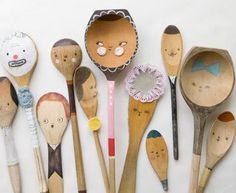 Decora tus cucharas viejas de la cocina, aqui tienes algunas ideas #HTM