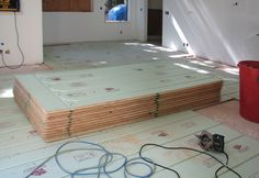 Warmboard panels are ready to rock.