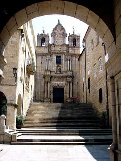 Church of Santa Maria la Mayor in Ourense - Galicia, Spain Santa Maria, Spanish Courses, Adventure Bucket List, Basque Country, Balearic Islands, Place Of Worship, World Heritage Sites, Beautiful Places, Places To Visit