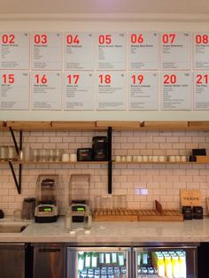Menu board - could alter for days of the month daily menus