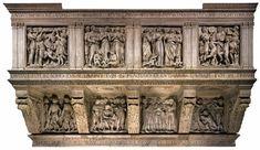 Luca della Robbia, Cantoria  1431/ 1438  Marble, 328 x 560 cm  Museo dell'Opera del Duomo, Florence