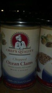 Chef's Quality: Chopped Ocean Clams 51 Oz. (2 Pack)