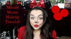 Minnie Mouse Halloween Makeup Tutorial | Victoria Leigh - YouTube
