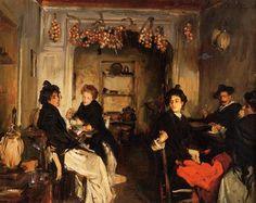 TABERNA VENECIANA, 1898. John Singer Sargent (1856-1925).