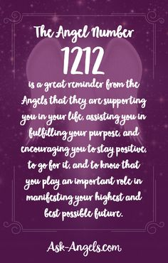 The Angel Number 1212 is a great reminder from the angels that they are supporting you in your life, assisting you in fulfilling your purpose, and encouraging you to stay positive, to go for it, and to know that you play an important role in manifesting y Numerology Calculation, Numerology Numbers, Astrology Numerology, Astrology Meaning, Astrology Scorpio, Spiritual Meaning, Spiritual Guidance, Spiritual Awakening, Spirituality