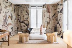 Vogue Italias kontor, inrett av Faye Toogood.