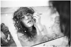 "Pictures of Patti Smith by Judy Linn, when Patti Smith and Robert Mapplethorpe were ""just kids"""