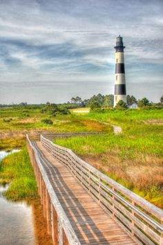 Bodie Island Lighthouse, NC by Airman Michael, via 500px.
