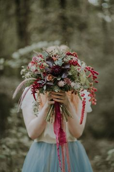Woodland Bohemian Luxe Inspiration by Lola Rose Photography & Film Fall Wedding Centerpieces, Fall Wedding Bouquets, Fall Wedding Flowers, Fall Wedding Colors, Fall Flowers, Fall Wedding Makeup, Lola Rose, Woodland Wedding, Forest Wedding