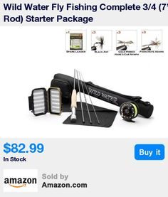 You won't find another 3/4 starter package out there at this price that has everything that ours has. A 4-piece 7 foot rod, a large arbor reel with drag, preinstalled line, backing and leader, a rod sock, a rod case, a fly box, 3 Black Ants, 3 Parachute Adams, 3 Gold Ribbed Hare's Ear Nymphs, a spare leader AND A LIFETIME ROD WARRANTY! * Why settle for anything less than the BEST VALUE and BEST CUSTOMER SERVICE on the market? Buy direct from the manufacturer and get the best manufacturer-dir
