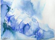 Aquaréelle et le MIXED MEDIA par Sandra Fantino : Aquarelle sur papier
