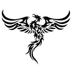 celtic phoenix artwork | Phoenix Tribal Graphics Code | Phoenix Tribal Comments & Pictures