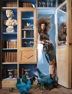 """Katie Fogarty in """"Tales Of The Unexpected""""byBenjamin KanarekforHarper's Bazaar Hong Kong,October 2010"""