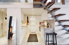 Un attico di design a doppia altezza - Mansarda.it