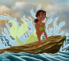 DeviantArt is the world's largest online social community for artists and art enthusiasts, allowing people to connect through the creation and sharing of art. Disney Princesses As Mermaids, Tiana Disney, Disney Princess Drawings, Mermaid Disney, Princess Art, Disney Drawings, Sailor Princess, Princess Bubblegum, Every Disney Princess