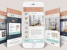 MockUp Studio is a mobile application that lets you transform your mobile or tablet into a digital interior designer.  Full presentation on Behance: MockUp Studio