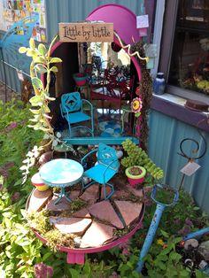 Mailbox Fairy Garden