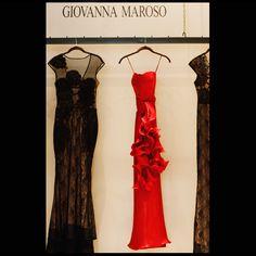 Vestido largo en Seda  Vestido largo strapless hecho en Abel de seda, color rojo cereza con cinturón de golas. http://www.elretirobogota.com/esp/?dt_portfolio=giovanna-maroso