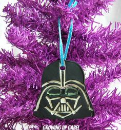 Homemade Star Wars Christmas OrnamentsCelebrate the release of Star Wars Episode VII with these easy DIY clay Star Wars Christmas ornaments! Use an easy to work with baking soda dough, bake and paint!